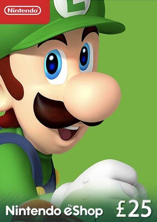 Nintendo eShop £25 card Nintendo 3DS/DS/Wii/Wii U
