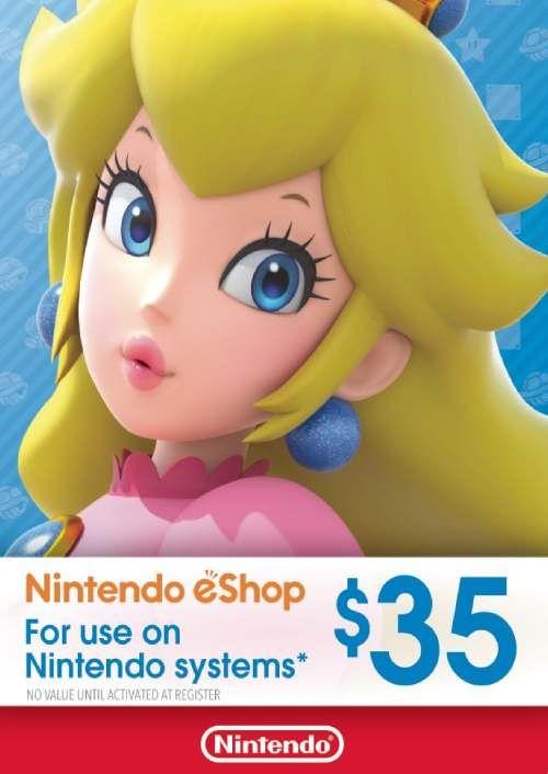 Nintendo eShop Card - 35 CAD