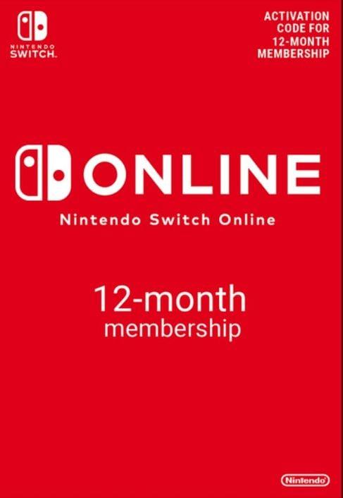 Nintendo Switch Online 12 maanden (365 dagen) lidmaatschap Switch