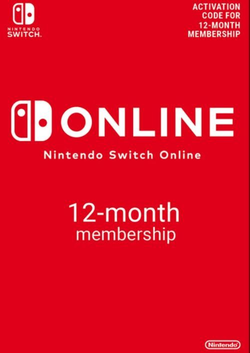 Nintendo Switch Online 12 Month (365 Day) Membership Switch (US)