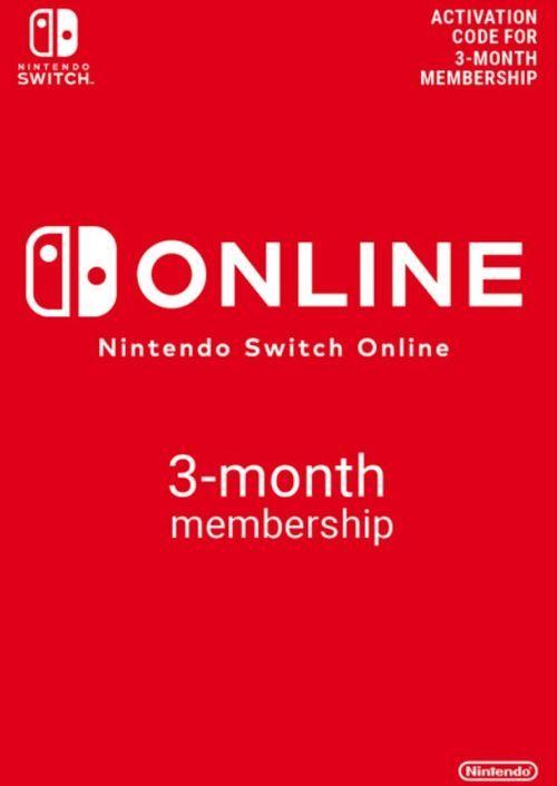 Nintendo Switch Online 3 maanden (90 dagen) lidmaatschap Switch (VS)