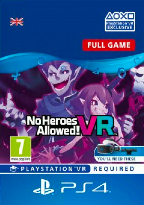No Heroes Allowed VR PS4