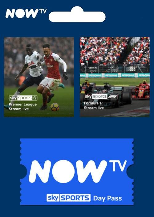 Now Tv 1 Day Sports Pass Cdkeys