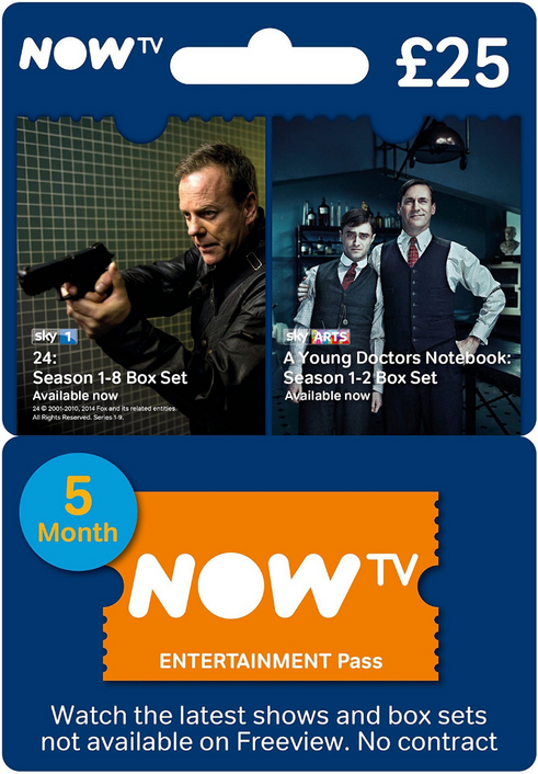 NOW TV - Entertainment 5 Month Pass