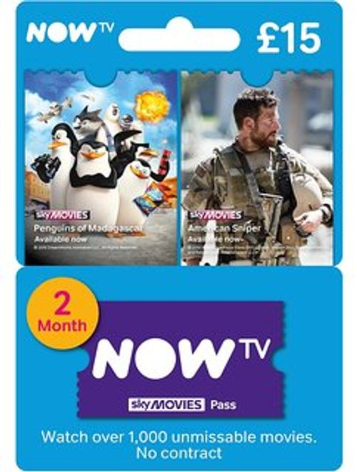 NOW TV - Movies 2 Month Pass