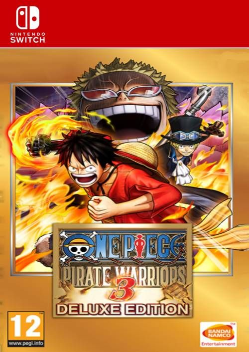 One Piece Pirate Warriors 3 - Deluxe Edition Switch