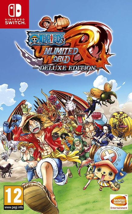 One Piece: Unlimited World Red Deluxe Edition Switch