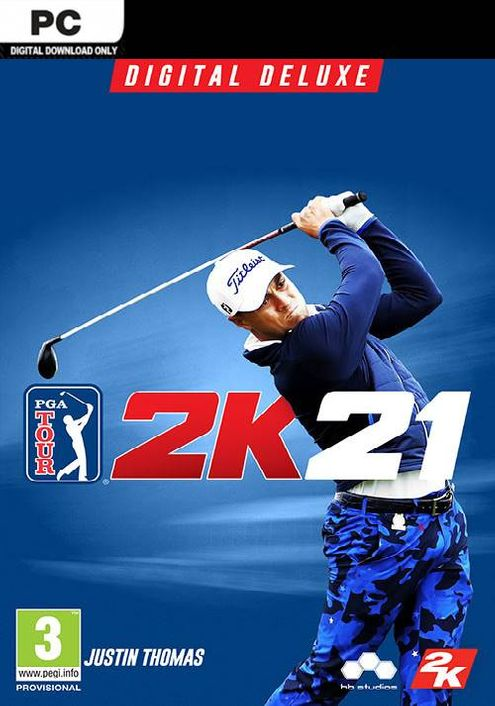 PGA Tour 2K21 Deluxe Edition PC (WW)