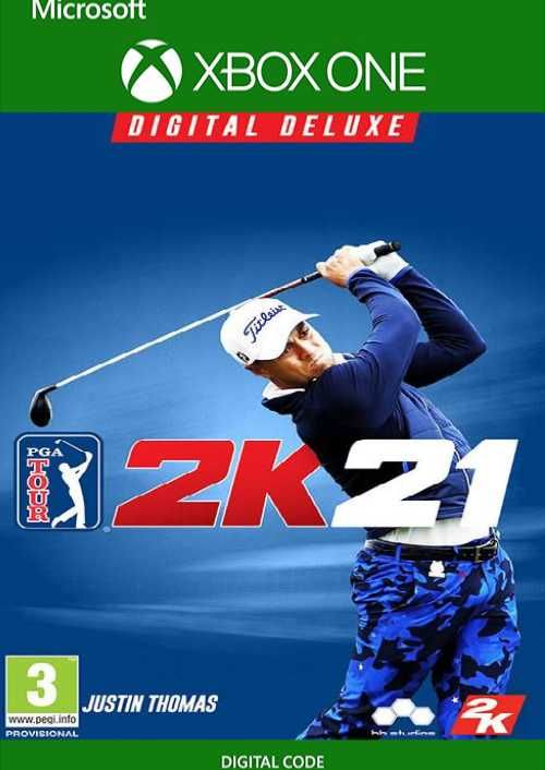 PGA Tour 2K21 Deluxe Edition Xbox One (UK)