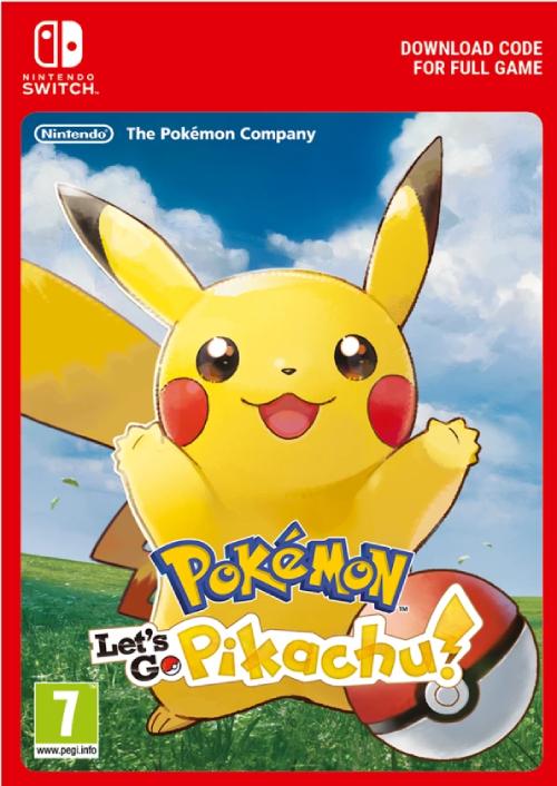 Pokemon Let's Go! Pikachu Switch