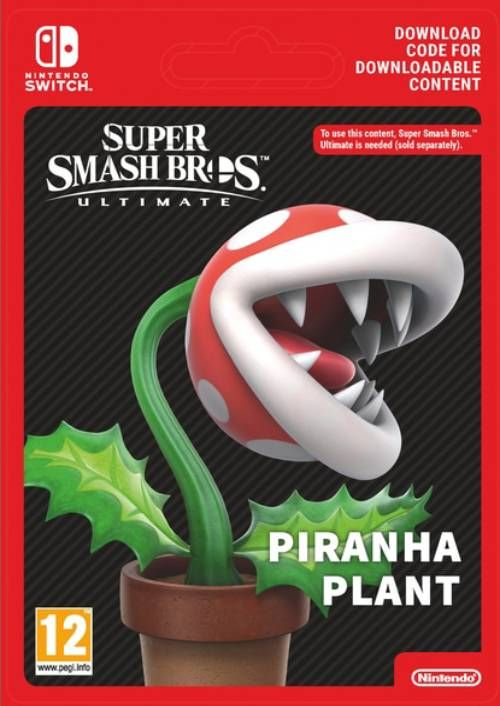 Super Smash Bro Ultimate: Piranha Plant DLC Switch