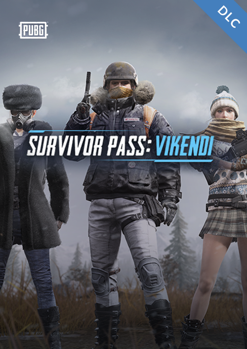 PlayerUnknowns Battlegrounds (PUBG) PC Survivor Pass Vikendi DLC