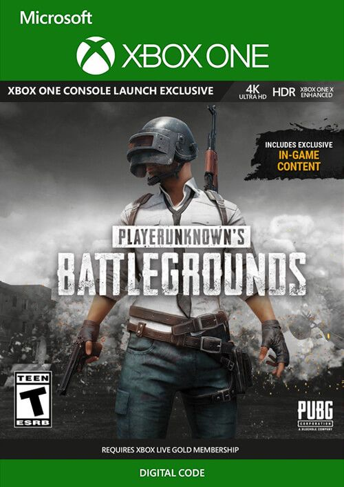 Player Unknown's Battlegrounds (PUBG) for Xbox One by Microsoft [Digital Download]
