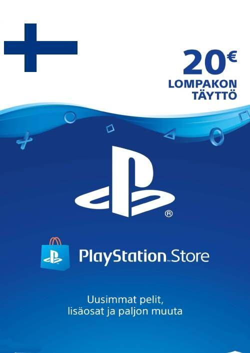 Playstation Network (PSN)-kaart 20 EUR (Finland)