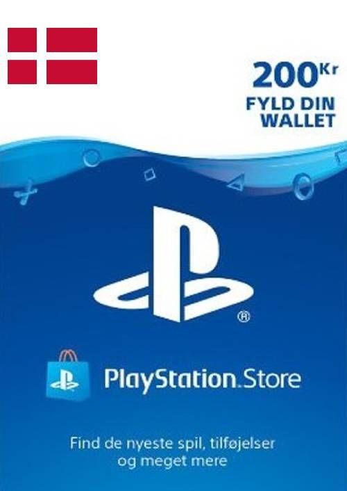 Playstation Network (PSN)-kaart 200 DKK (Denemarken)