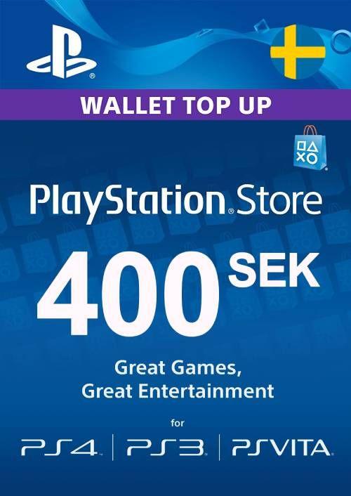 Playstation Network (PSN) Card 400 SEK (Sweden)