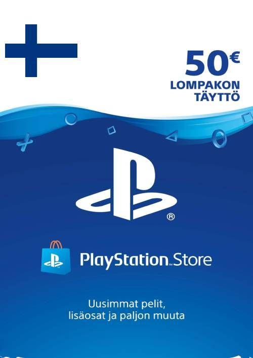 Playstation Network (PSN)-kaart 50 EUR (Finland)