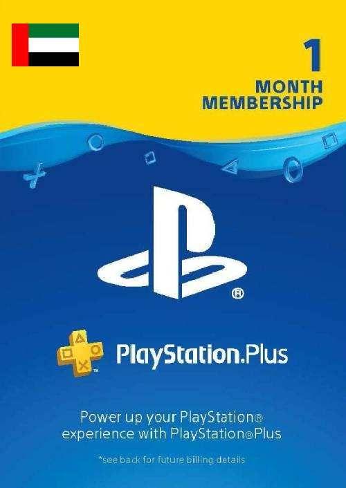 PlayStation Plus - Abonnement d'un mois (EAU)