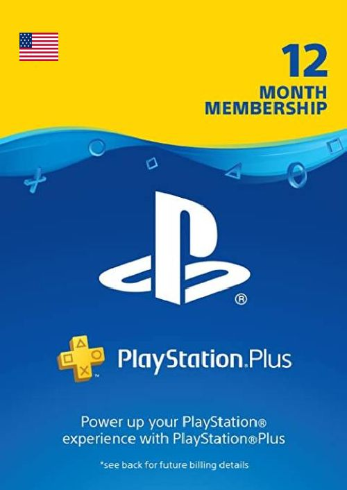 1-Year PlayStation Plus Membership (PS+) - PS3/PS4/PS5 Digital Code (USA)