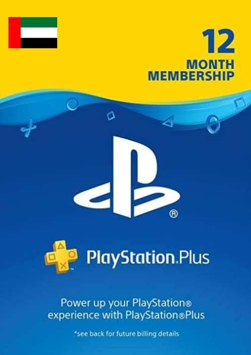 PlayStation Plus - Abonnement de 12 mois (EAU)
