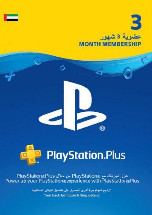 PlayStation Plus - Abonnement de 3 mois (EAU)