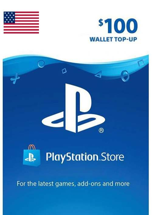 PlayStation Network (PSN) Card - 100 USD (USA)