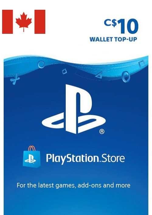 PlayStation Network (PSN)-kaart - 10 CAD (CANADA)