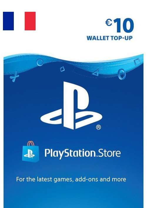 PlayStation Network (PSN) Card - 10 EUR (FRANCE)