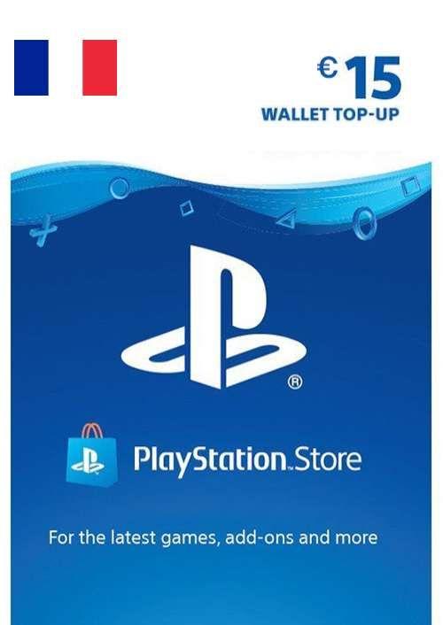 PlayStation Network (PSN) Card - 15 EUR (FRANCE)