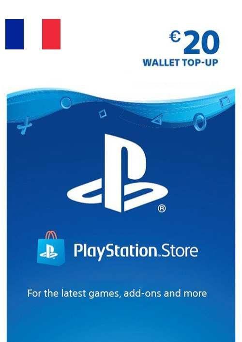 PlayStation Network (PSN) Card - 20 EUR (France)