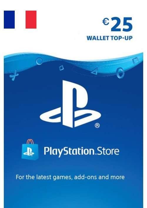 PlayStation Network (PSN) Card - 25 EUR (FRANCE)