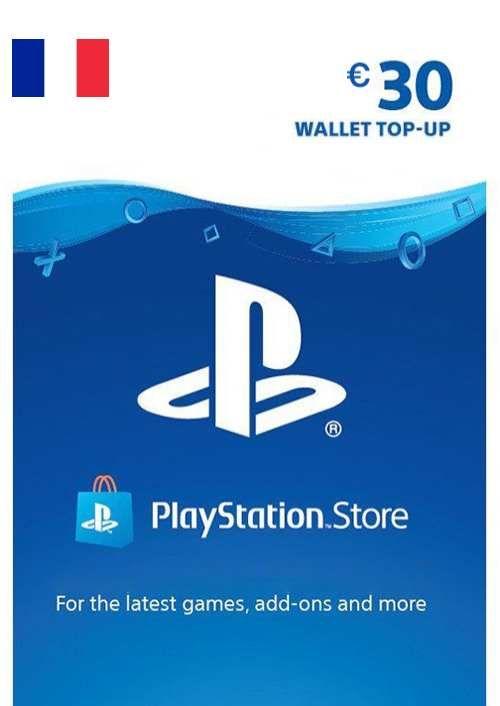 PlayStation Network (PSN) Card - 30 EUR (FRANCE)