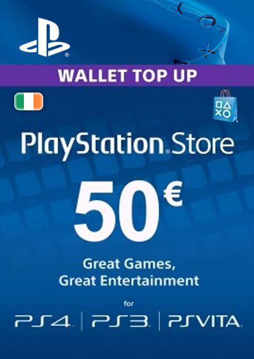PlayStation Network (PSN) Card - 50 EUR (Ireland)