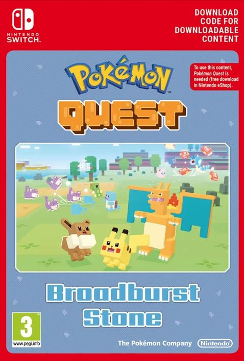 Pokemon Quest - Broadburst Stone Switch
