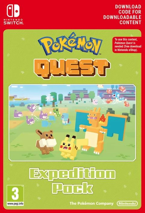 Pokemon Quest - Expedition Pack Switch