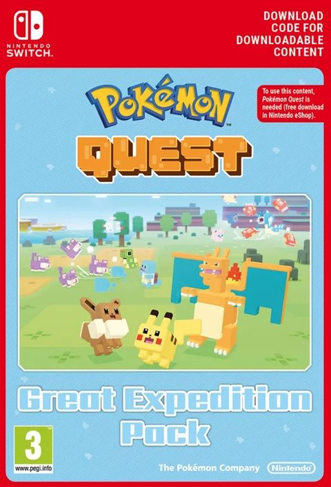 Pokemon Quest - Great Expedition Pack Switch