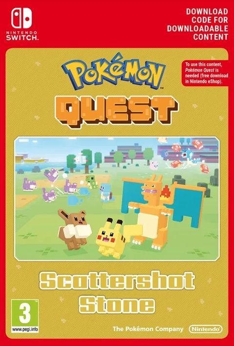 Pokemon Quest - Scattershot Stone Switch