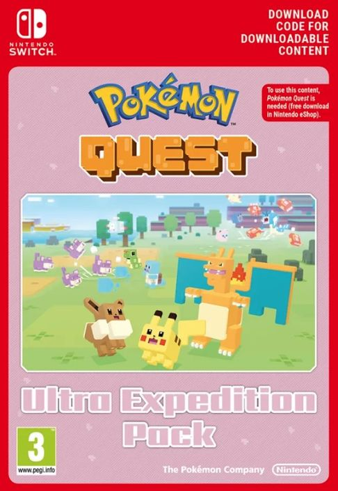 Pokemon Quest - Ultra Expedition Pack Switch