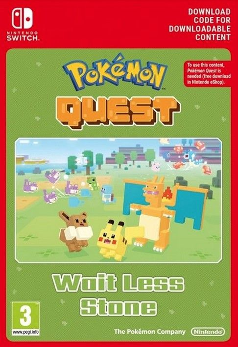 Pokemon Quest - Wait Less Stone Switch