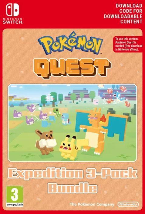 Pokemon Quest - Expedition 3-Pack Bundle Switch