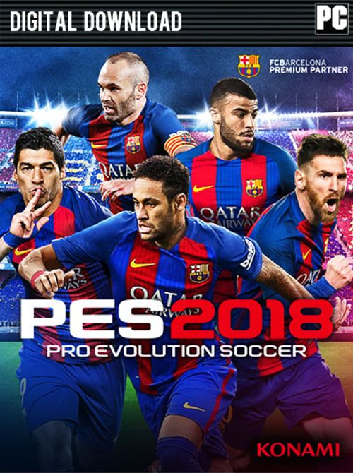 pro evolution soccer 2018 license key free download