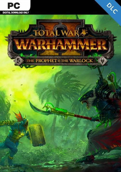 Total War: Warhammer II 2 - The Prophet & The Warlock DLC PC (WW)