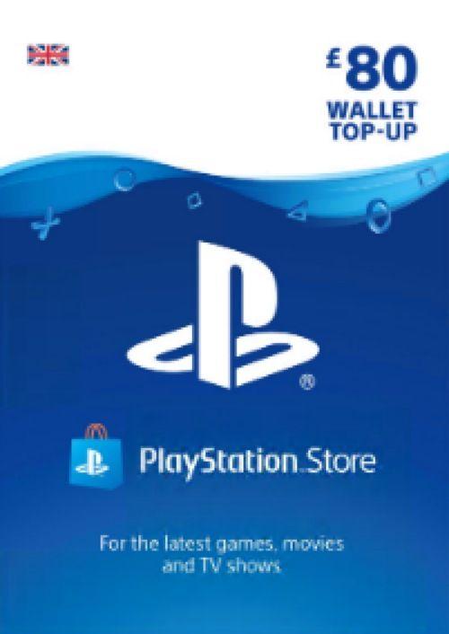 Playstation Network (PSN) Card - £80 (UK)
