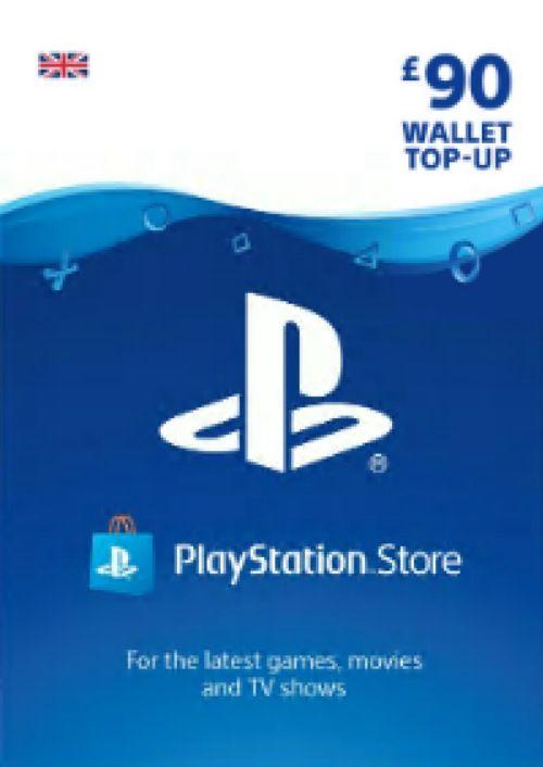 Playstation Network (PSN) Card - £90 (UK)