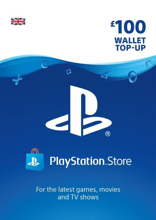 Playstation Network (PSN) Card - £100