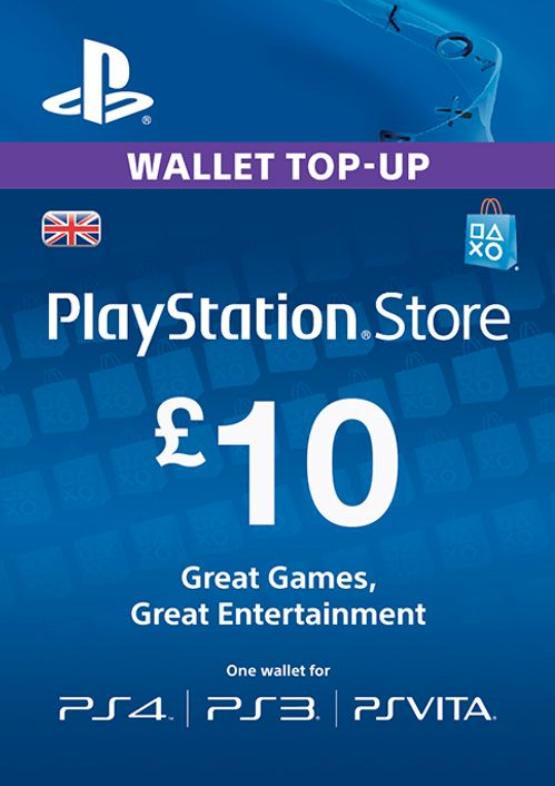 Playstation Network Card 10 Ps Vita Ps3 Ps4 Cdkeys Com
