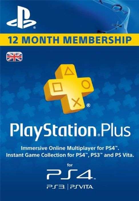 PlayStation Plus - 12 Month Subscription (UK)