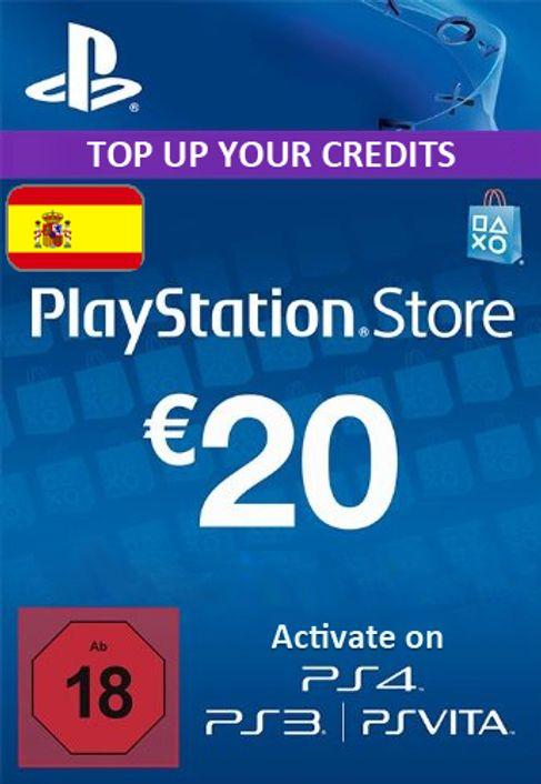 PSN Tarjeta Prepago - 20 EUR (ES)
