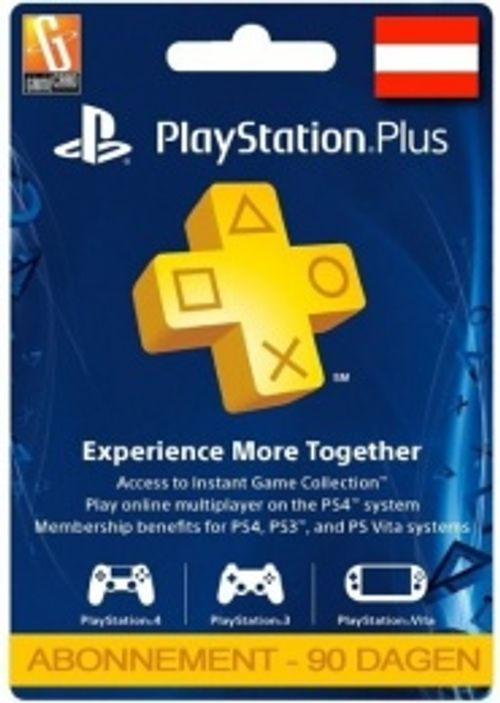 PlayStation Plus (PS+) - 3 Month Subscription (Austria)