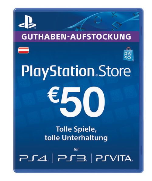 PlayStation Network (PSN) Card - 50 EUR (Austria)